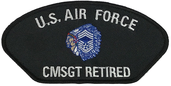 USAF CMSGT RETIRED PATCH