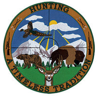 Hunting A Timeless Tradition w/ Scope Gun Patch - HATNPATCH