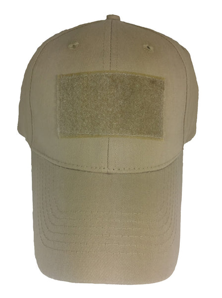 BLANK VELCRO PATCH HAT - Desert Tan - HATNPATCH