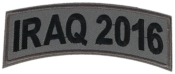 IRAQ 2016 TAB ROCKER PATCH - HATNPATCH