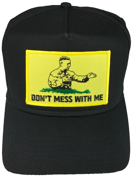 DON'T MESS WITH ME GENERAL MATTIS GADSDEN FLAG HAT - HATNPATCH