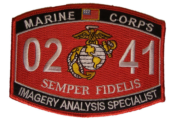United States Marine Corps MOS 0241 Imagery Analysis Specialist - HATNPATCH
