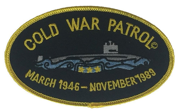 COLD WAR PATROL MARCH 1946 - NOVEMBER 1989 PATCH - HATNPATCH
