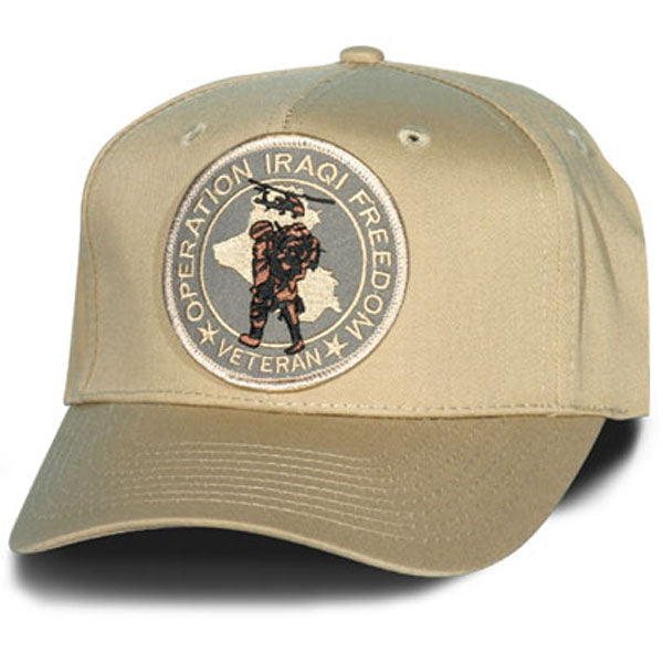 Operation Iraqi Freedom Vet Hat - HATNPATCH