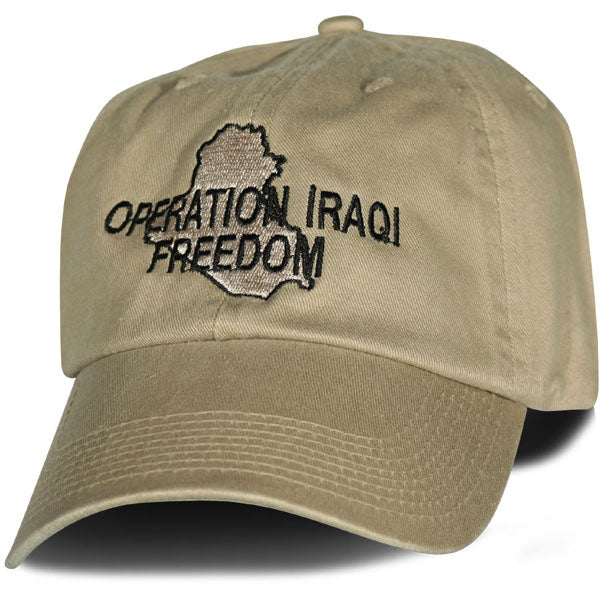 Operation Iraqi Freedom Veteran DEMB Hat 2