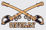 Cavalry (Crossed Sword) Decal