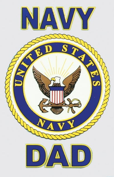 Navy DAD Decal - HATNPATCH