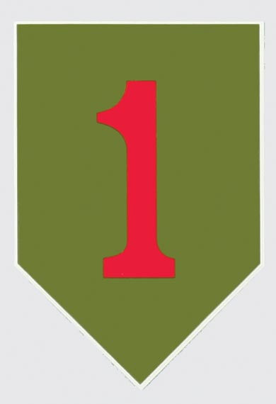 Big Red One 1st Infantry Decal - HATNPATCH