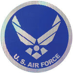 New Air Force Logo Large Prism Decal