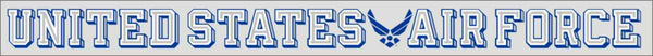 United States Air Force (Wing) Window Strip Decal