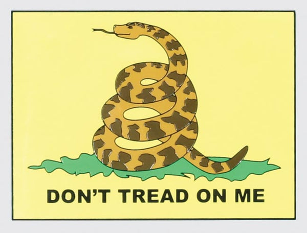Don't Tread On Me Decal - HATNPATCH