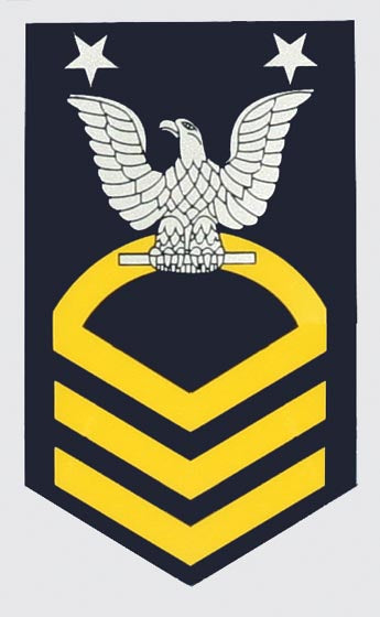 USN E-9 Master Chief Petty Officer Decal