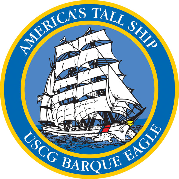 America's Tall Ship USCG Barque Eagle Decal