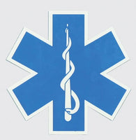 EMS/EMT Star of Life Decal