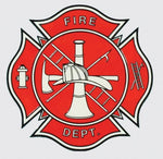 Fire Department Logo Decal