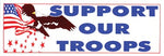 Support Our Troops Bumper Sticker - HATNPATCH