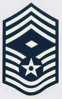 USAF E-9 Chief SGT. Decal