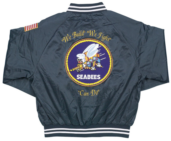 Seabees Satin Jacket