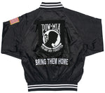 POW/MIA Satin Jacket