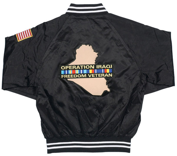 OIF Veteran Satin Jacket