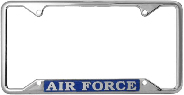 Air Force License Plate Frame - HATNPATCH