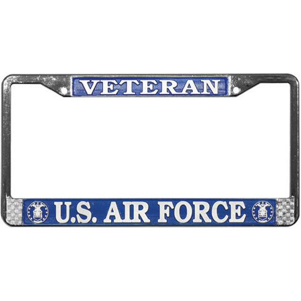 Veteran U.S. Air Force License Plate Frame