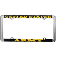 United States Army Thin Rim License Plate Frame - HATNPATCH