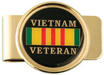 Vietnam Veteran Ribbon Money Clip - HATNPATCH