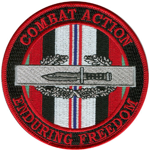 Combat Action Enduring Freedom Patch - HATNPATCH
