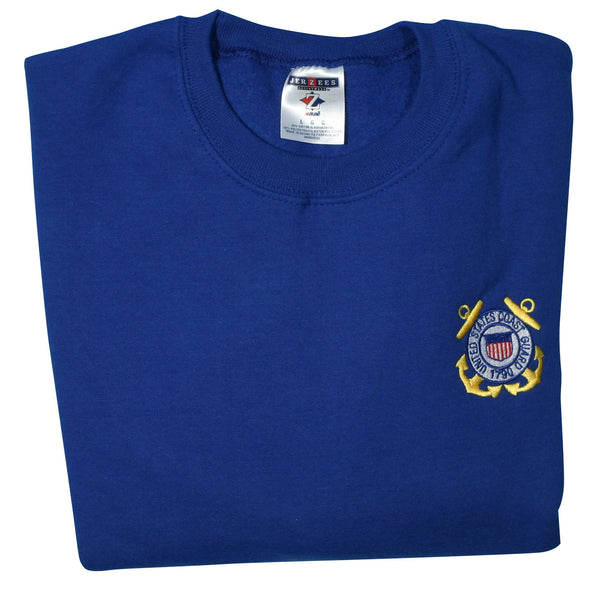 U.S. Coast Guard Crest DEMB Sweatshirt - HATNPATCH
