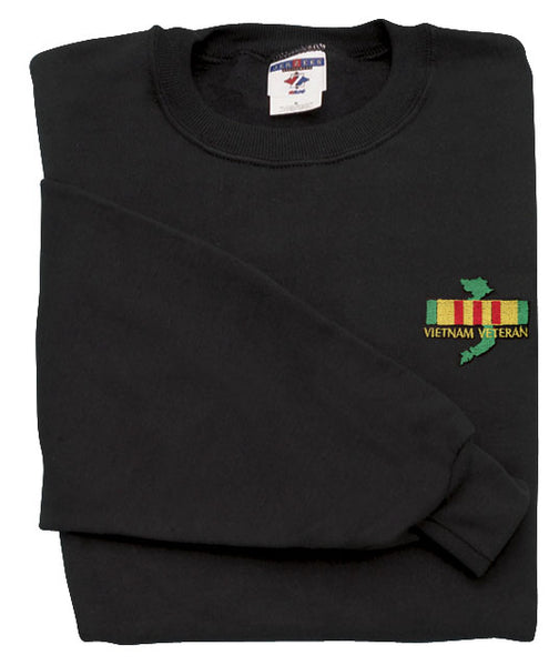 Vietnam Veteran Map DEMB Sweatshirt - HATNPATCH