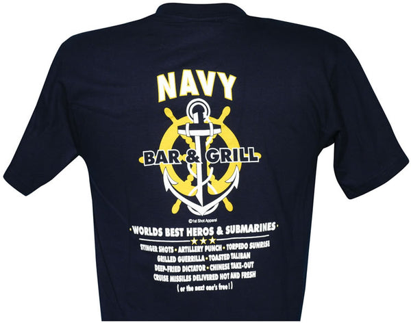 U.S. Navy Worlds Best Heroes T-Shirt - HATNPATCH
