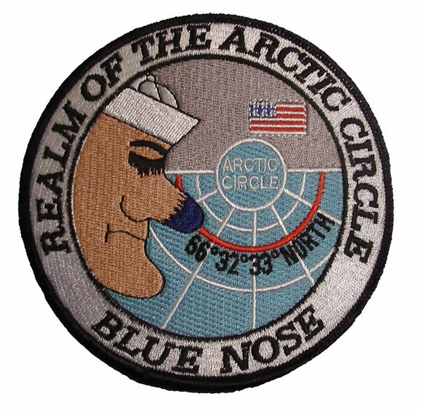 Realm of the Arctic Circle - US Navy Blue Nose Patch - Large - HATNPATCH