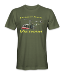 Frequent Flyer Army Huey Vietnam T-Shirt 1 - HATNPATCH