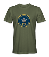 UNITED STATES NAVY CEREMONIAL GUARD LARGE EMBLEM T-Shirt - HATNPATCH