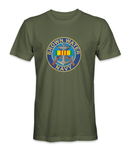 Brown Water Navy with M-14s Logo Vietnam T-Shirt - HATNPATCH