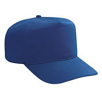 Blank Royal Blue Golf Style Hat