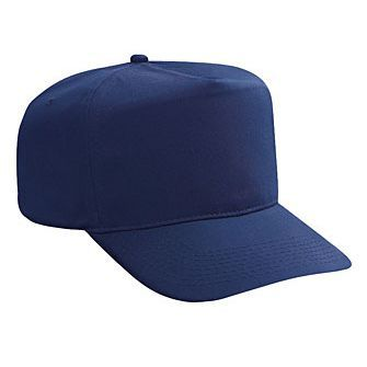 Blank Navy Blue Golf Style Hat