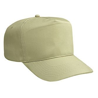 Blank Beige/Tan Golf Style Hat