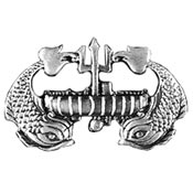 Navy Deep Submergence Enlisted Badge Hat Pin - HATNPATCH