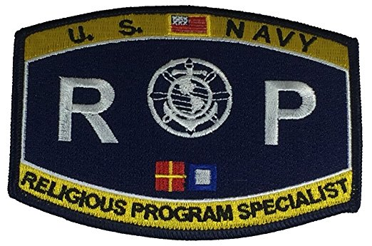 United States Navy Rating RP Religious Program Specialist Patch - HATNPATCH