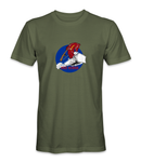 US Air Force Charging Charlie Red Horse T-Shirt - HATNPATCH