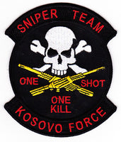 KOSOVO SNIPER TEAM PATCH
