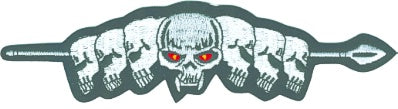 SKULLS-SMALL PATCH - HATNPATCH