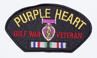 Gulf War Purple Heart Veteran Patch
