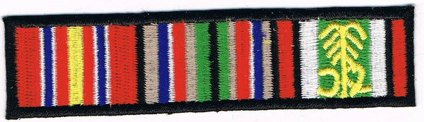 DESERT STORM CAMPAIGN RIBBONS PATCH