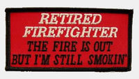 RETIRED FIREFIGHTER PATCH - HATNPATCH
