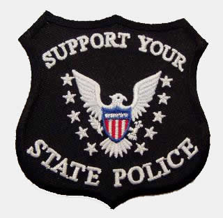 SUPPORT YOUR STATE POLICE PATCH