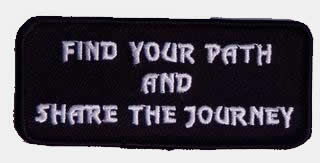 FIND YOUR PATH PATCH