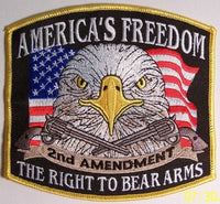 America's Freedom #2 Small Gun Patch - HATNPATCH